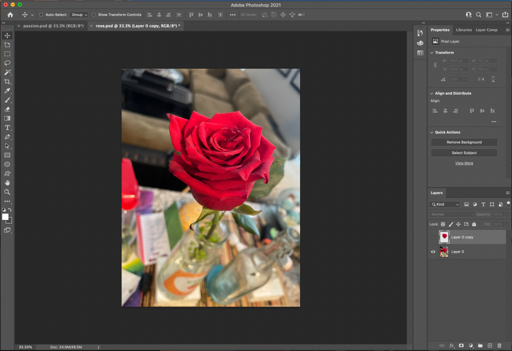in the article how to create an NFT I explain the use of original photography. this is a picture of the rose used in my collection.
